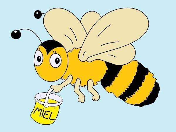 Las abejas y la miel - Cuento infantil corto
